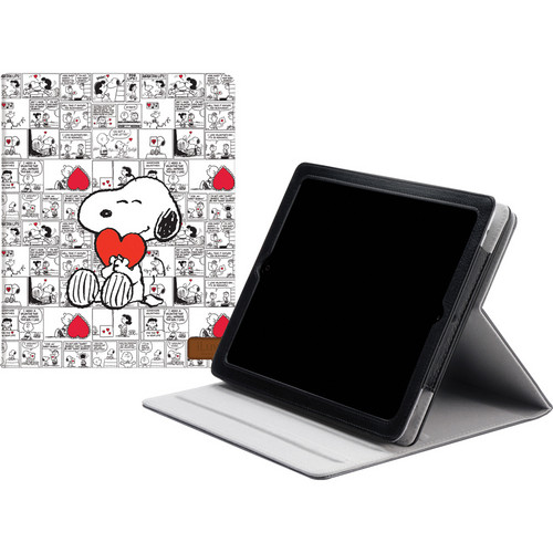 iLuv Snoopy Folio Case for new iPad (White)