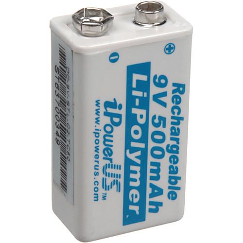 iPower 9V Li-Polymer 500mAh Battery