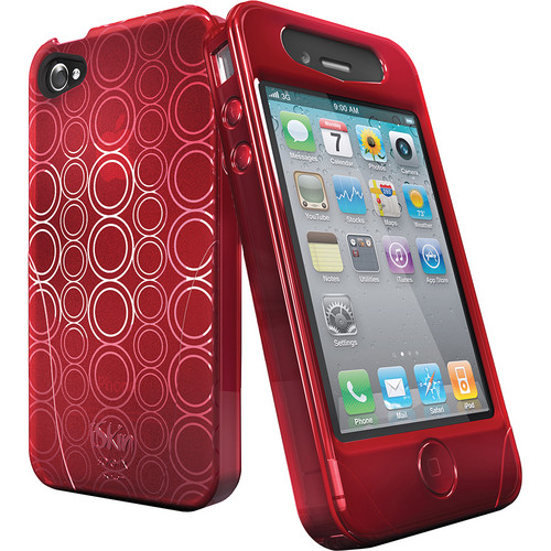 iSkin Solo FX Case for iPhone 4 (Blaze Red)