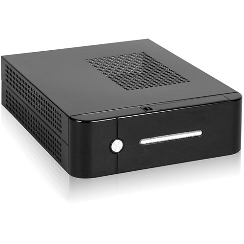 iStarUSA S-0112-DT Compact Stylish Mini-ITX Enclosure with 120 W PSU