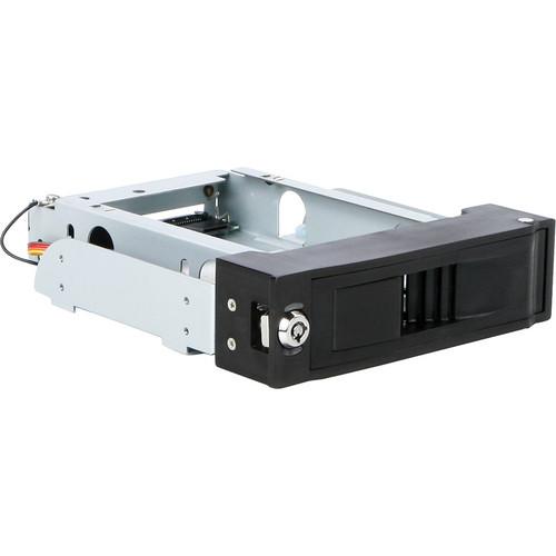 "iStarUSA T5-SA 1x 5.25"" Bay Trayless Anti-Vibration SATA Mobile Rack"