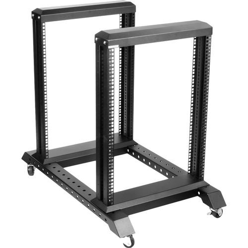 iStarUSA WO15AB 4-Post Open Frame Rack (15U)