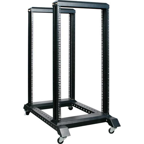 iStarUSA WO22AB 4-Post Open Frame Rack (22U)