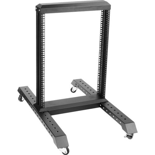 iStarUSA WO2-15B 2-Post Open Frame Rack (15U)