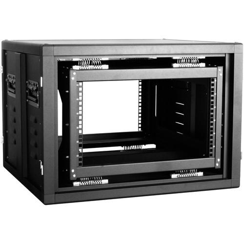 iStarUSA Claytek WSM-660 6U Shockmount Server Cabinet (Black)