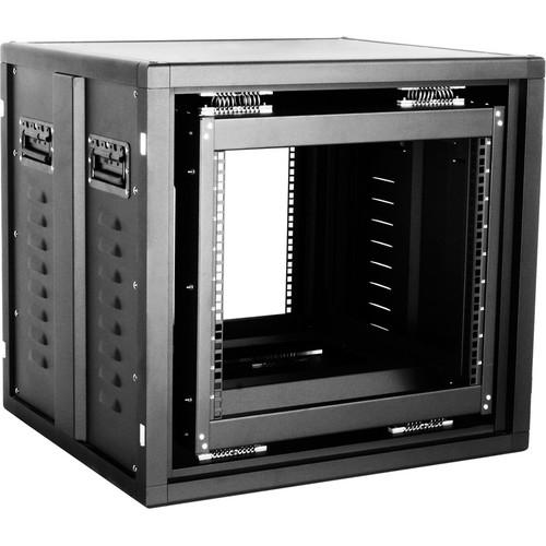 iStarUSA Claytek WSM-960 9U Shockmount Server Cabinet (Black)