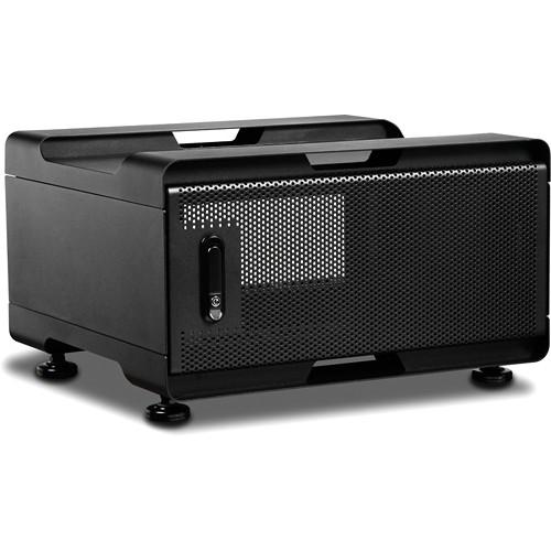 iStarUSA WS-450B Audio/Video Rackmount Cabinet (500mm Depth, Black)