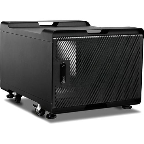 iStarUSA WS-770B 7 RU Audio/Video Rackmount Cabinet (700mm Depth, Black)