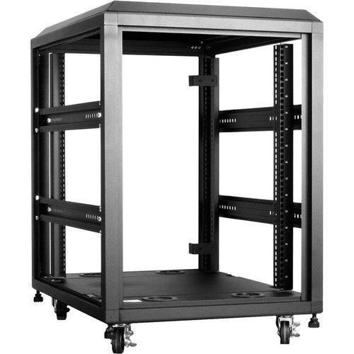 iStarUSA WX-158 800mm 4-Post Open-Frame Rack (15 RU)