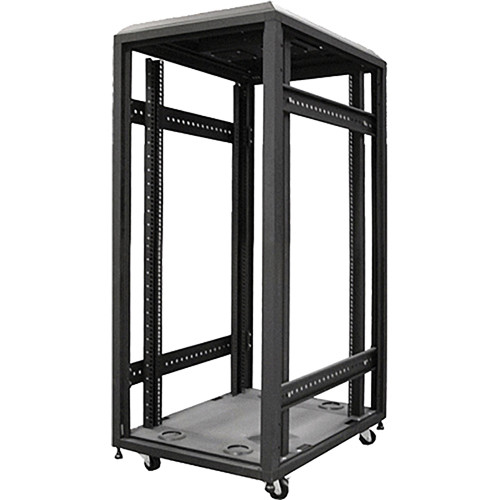 iStarUSA WX-228-EX 4-Post Open Frame Rack 22 U