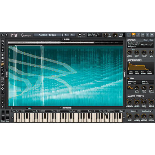 iZotope Iris Virtual Instrument