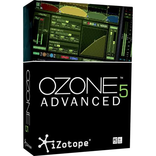 iZotope Ozone 5 Advanced - Complete Mastering System Plug-In