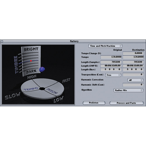 iZotope Radius - Time and Pitch Control Software