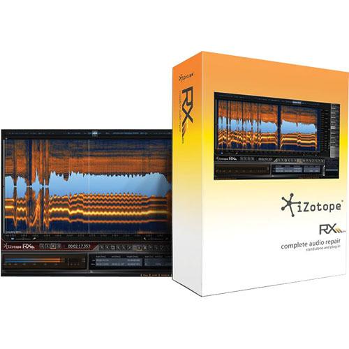 iZotope RX 2 Advanced - Audio Repair Software