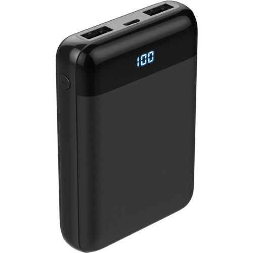 I/OMagic 10000mAh Power Bank 2 USB Output Ports up to 5V/2.4A