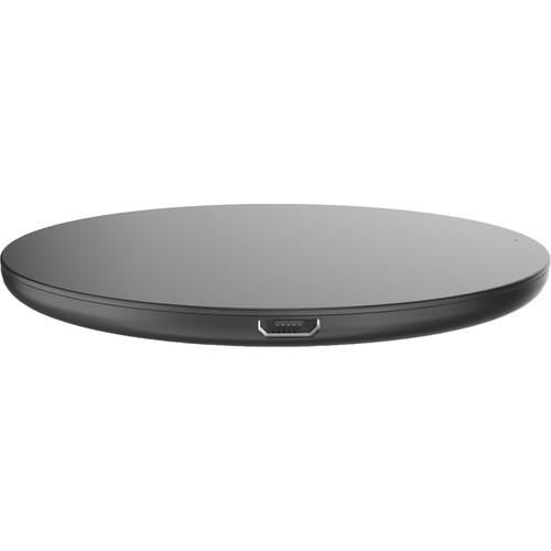 I/OMagic Desktop Ultra Slim 10W Fast Wireless Charger for Qi Enabled Phones with Universal AC USB QC 3.0