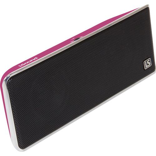 i.Sound GoSonic Portable Speaker (Pink)
