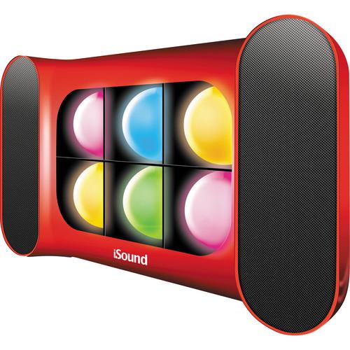 i.Sound iGlowSound Speaker (Red)