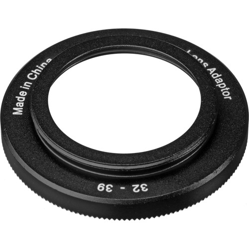 I-Torch M32-M39 Step-Up Ring for Underwater Lenses or Filters on iPix Housings