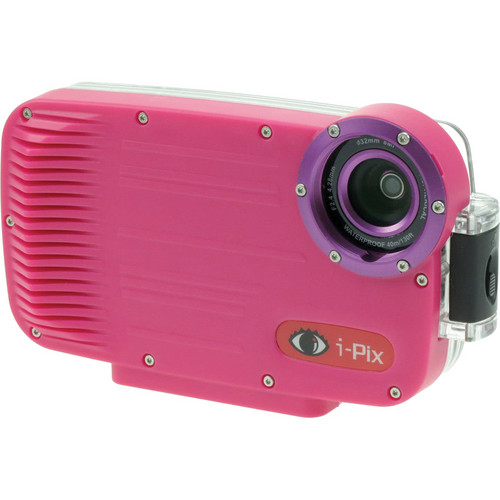 I-Torch iPix A4 Underwater Housing for iPhone 4 or 4s (Magenta)
