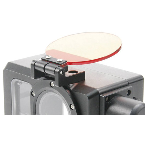 I-Torch Red Underwater Round Filter for iPix GoPro Housing