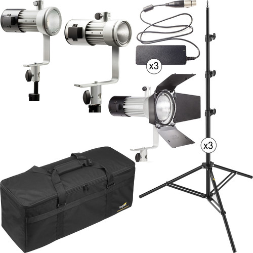Ianiro Mintaka Mini, Medium, and Maxi Daylight LED 3-Light Kit