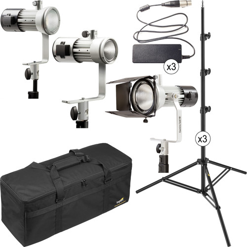 Ianiro Mintaka Mini, Medium, and Maxi Tungsten LED 3-Light Kit