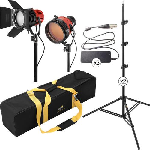 Ianiro Varibeam and Gulliver 2-Light LED Tungsten Kit
