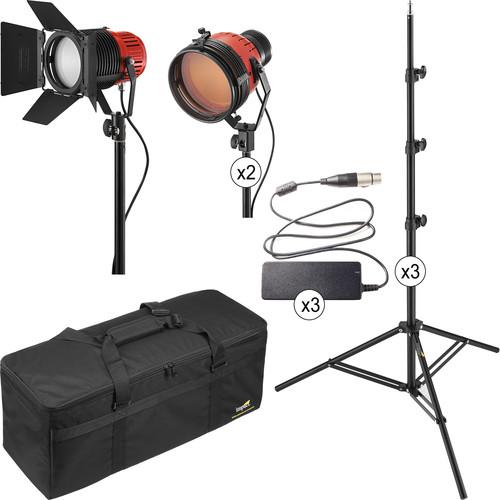Ianiro Varibeam and Gulliver 3-Light LED Tungsten Kit