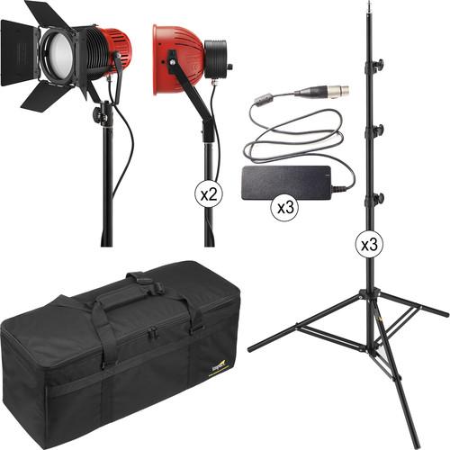 Ianiro Varibeam and Gulliver 3-Light LED Daylight Kit