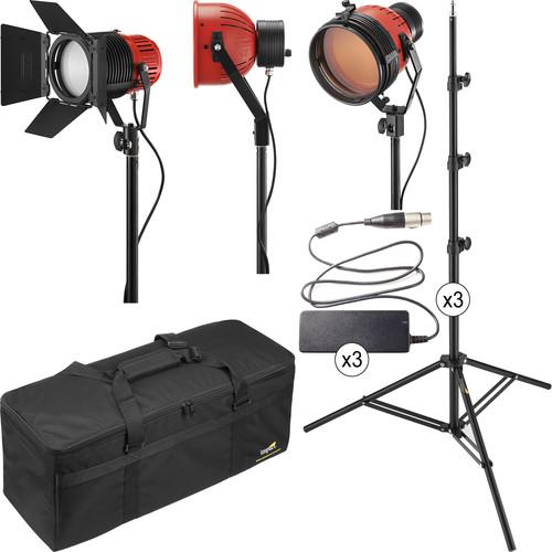 Ianiro Varibeam and Gulliver 3-Light LED Daylight/Tungsten Kit