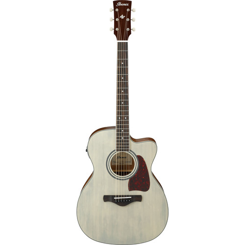 Ibanez AC320CE Artwood Series Acoustic/Electric Guitar (Antique Blonde, Open Pore)