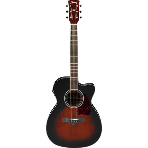 Ibanez Artwood Series AC400CE Acoustic/Electric Guitar (Dark Violin Sunburst)