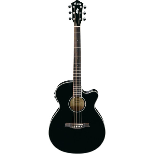 Ibanez AEG10II Acoustic/Electric Guitar (Black)