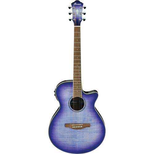 Ibanez AEG19II AEG Series Acoustic/Electric Guitar (Purple Iris Burst)