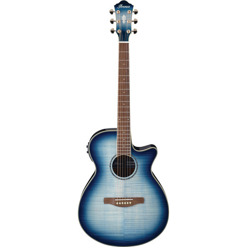 Ibanez AEG20II AEG Series Acoustic/Electric Guitar (Indigo Blue Burst High Gloss)