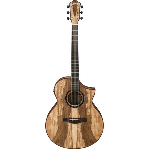 Ibanez AEW16LTD1 Exotic Wood Series Acoustic/Electric Guitar (Natural)