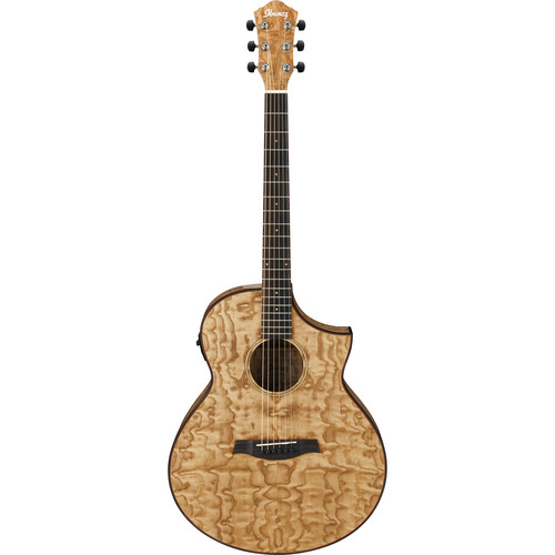 Ibanez AEW40ASNT Exotic Wood Series Acoustic/Electric Guitar (Natural)