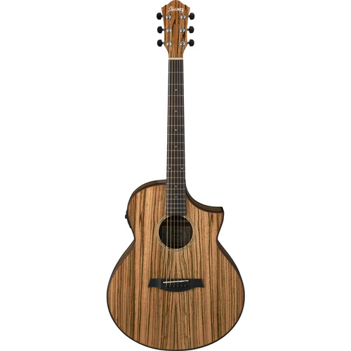 Ibanez AEW40ZWNT Exotic Wood Series Acoustic/Electric Guitar (Natural)