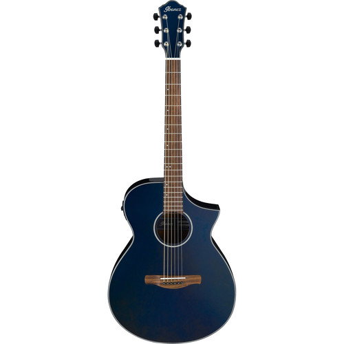Ibanez AEWC10 AEW Series Acoustic/Electric Guitar (Night Metallic Blue)