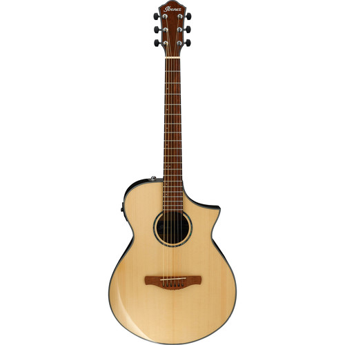 Ibanez AEWC300 AEW Series Acoustic/Electric Guitar (Natural High Gloss)