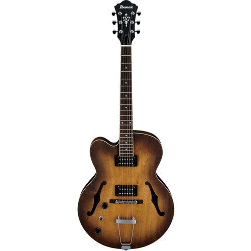 Ibanez AF55 Artcore Series Hollow-Body Electric Guitar (Left-Handed, Tobacco)