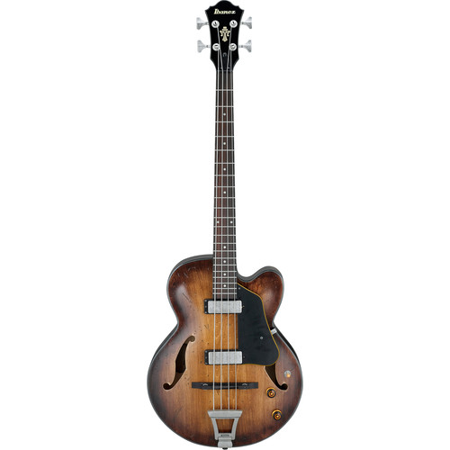 Ibanez Artcore Series AFBV200A Hollow-Body Electric Bass (Tobacco Burst)