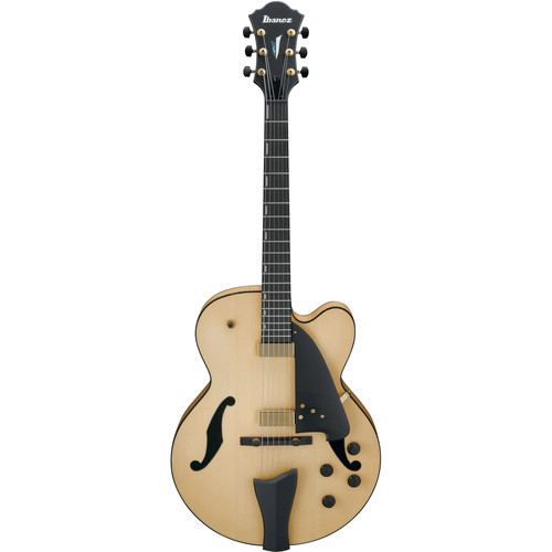 Ibanez AFC95 Contemporary Archtop Series Hollow-Body Electric Guitar (Natural Flat)