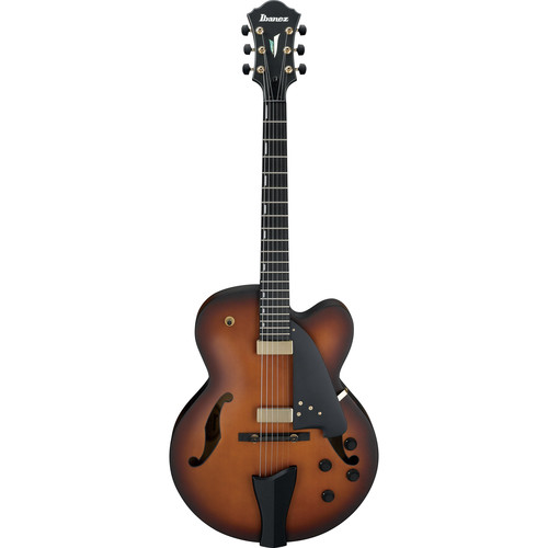 Ibanez AFC95 Contemporary Archtop Series Hollow-Body Electric Guitar (Violin Matte)