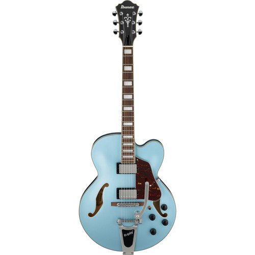 Ibanez AFS75T AFS Artcore Series Hollow-Body Electric Guitar (Steel Blue Flat)