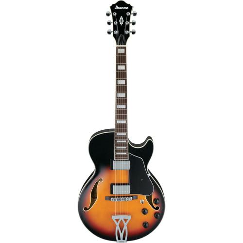 Ibanez AG75 Artcore Series Hollow-Body Electric Guitar (Brown Sunburst)