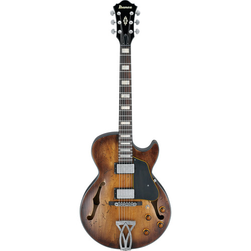 Ibanez AGV10A Artcore Vintage Series Hollow-Body Electric Guitar (Tobacco Burst Low Gloss)