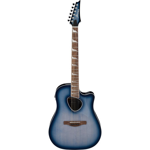 Ibanez ALT30 Altstar Series Acoustic/Electric Guitar (Indigo Blue Burst High Gloss)