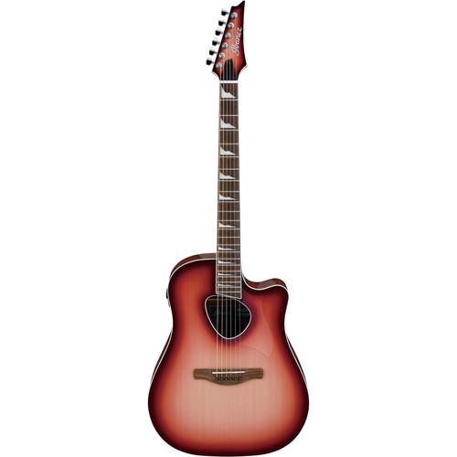 Ibanez ALT30 Altstar Series Acoustic/Electric Guitar (Red Coral Sunburst)